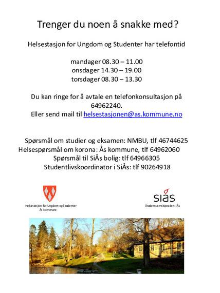 Helsestasjon info