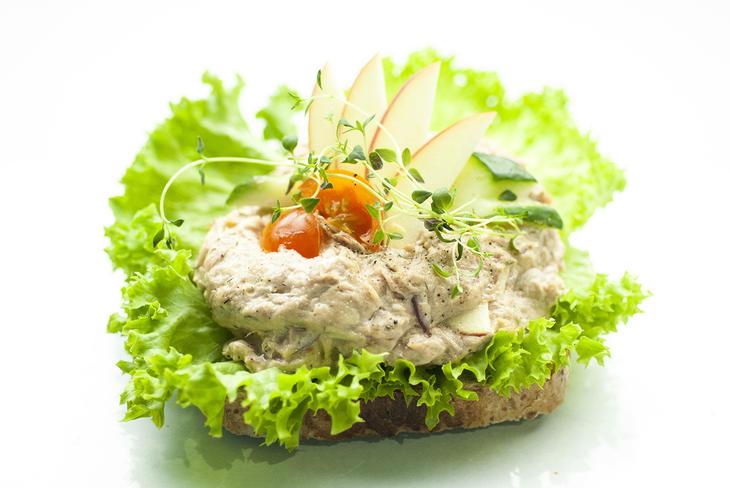 Tunfisksalat smørbrød
