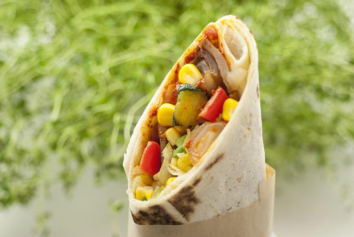 Vegetar Wraps
