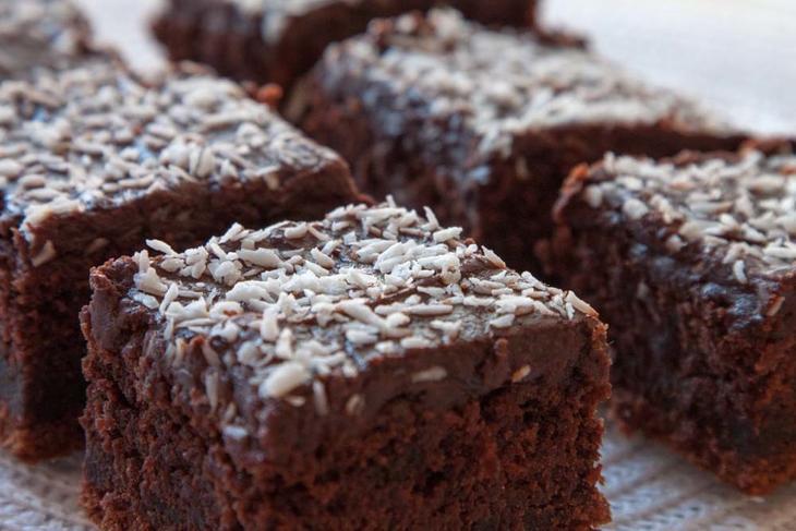 Sjokoladelangpanne-kake