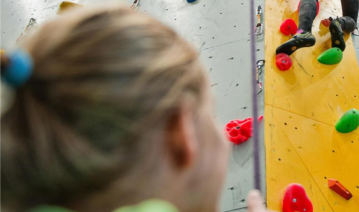 klatring med barn